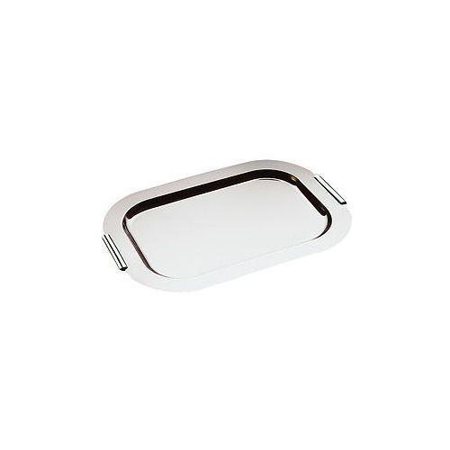 Taca prostokątna do serwowania z uchwytami chromowanymi 440x310 mm   APS, Finesse