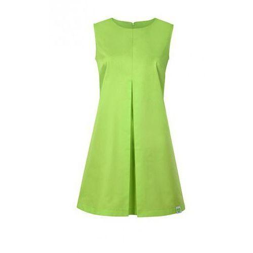 Sukienka Kosmetyczna Beauty Limonka (odzież medyczna)