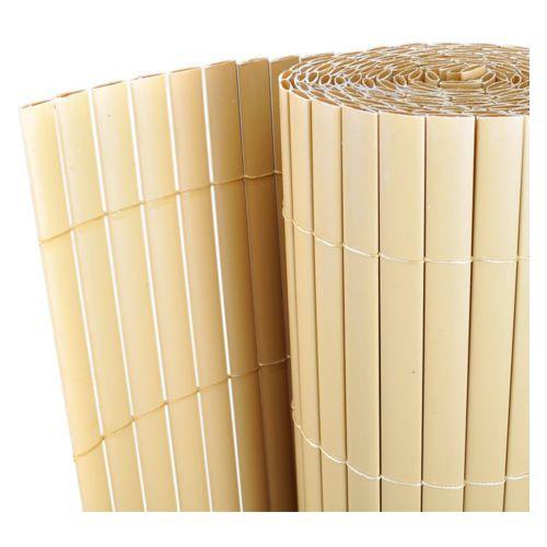 vidaXL Dwustronne ogrodzenie PCV żółte 300 x 200 cm listwa 12 mm - produkt z kategorii- przęsła i elementy ogrodzenia