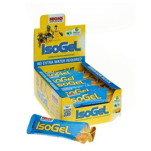 isogel żywność dla sportowców orange 25 x 60ml 2018 zestawy i multipaki marki High5