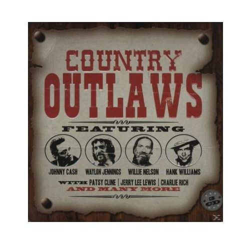 Union square music Różni wykonawcy - country outlaws