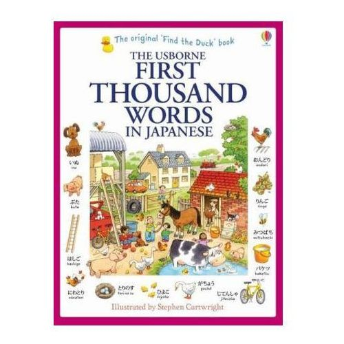 First Thousand Words in Japanese (9781409570370)