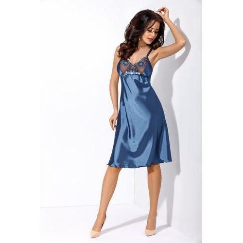 Gorsenia Michelle K318 Niebieska koszula nocna
