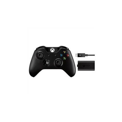 Gamepad Microsoft Xbox One Wireless Controller Langley + Zestaw Play & Charge (EX7-00002) ze sklepu EUKASA.pl