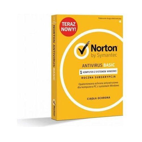 Symantec NORTON ANTIVIRUS BASIC1 Device - 21370583 Darmowy odbiór w 20 miastach! (5397039346021)