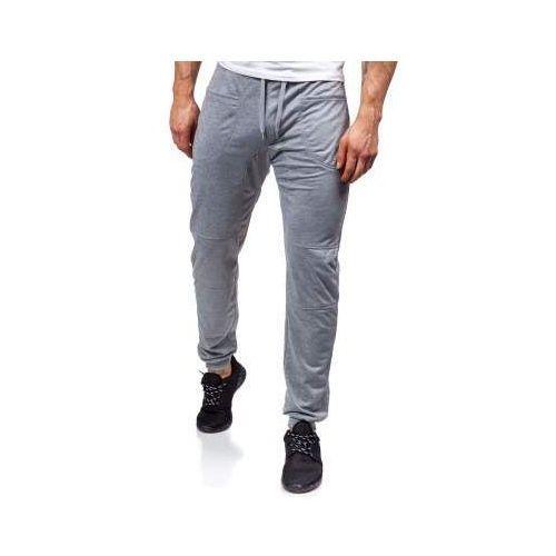 469c23191b6d34 Spodnie dresowe baggy męskie szare Denley 6016 34,99 zł Wygodne, szare  spodnie joggery Denley na co dzień i na treningi. Modne, wygodne i  praktyczne ...