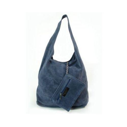 d15d88cc1d105 Vera pelle Worek zamsz shopper bag włoska skórzana torba xl a4 jeans w456bs  105,60 zł rozmiary TOREBKI: Wysokość po środku bez ucha: 33 cm Szerokość u  dołu ...