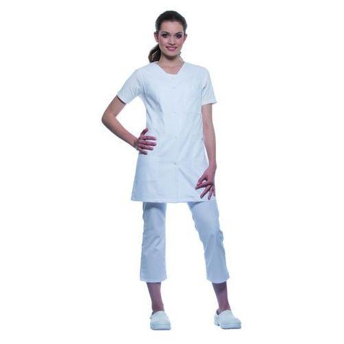 Tunika medyczna bez rękawów, rozmiar 50, biała | , sara marki Karlowsky