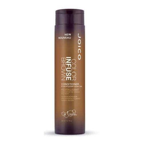 Joico color infuse brown | odżywka podkreślająca kolor włosów brązowych - 300ml