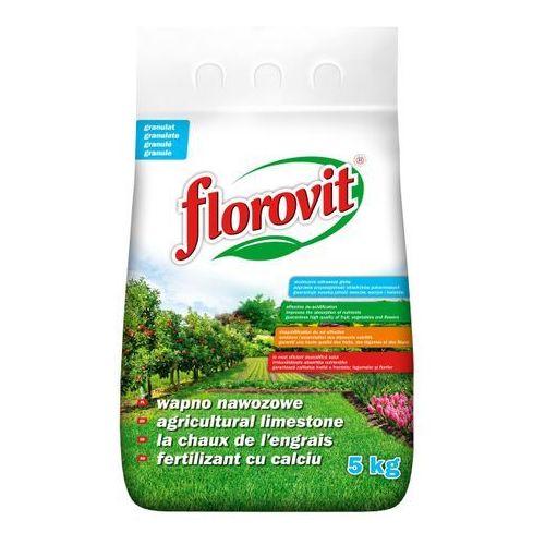 Wapno granulowane Florovit : Pojemność - 5 kg