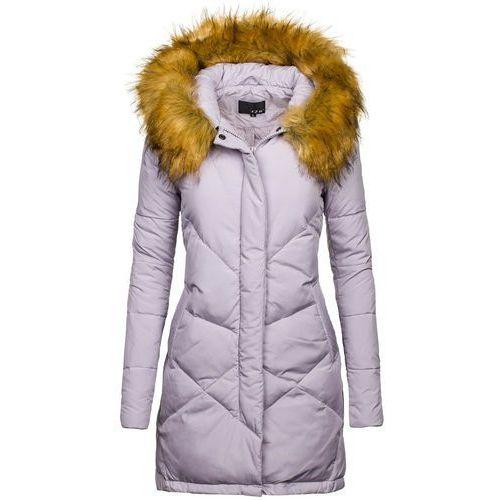 Liliowa kurtka zimowa damska Denley 8074 - LILIOWY - sprawdź w wybranym sklepie