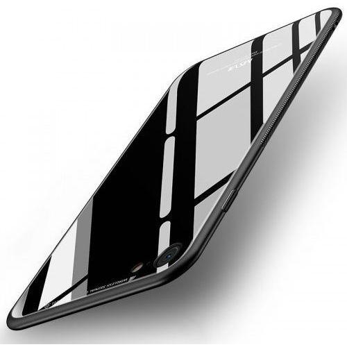Cienkie Etui ze szkła MSVII iPhone 8 / 7 czarne, msvii_20181213142159