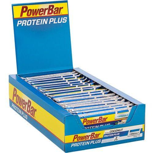 proteinplus + minerals żywność dla sportowców coconut 30 x 35g 2019 batony i żele energetyczne marki Powerbar