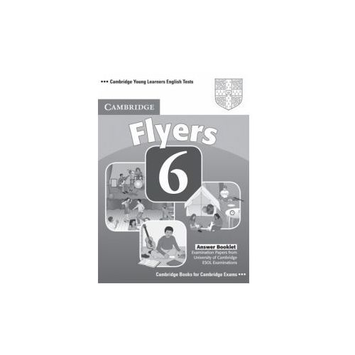 Cambridge Young Learners English Tests Flyers 6 Answer Booklet (9780521739405)
