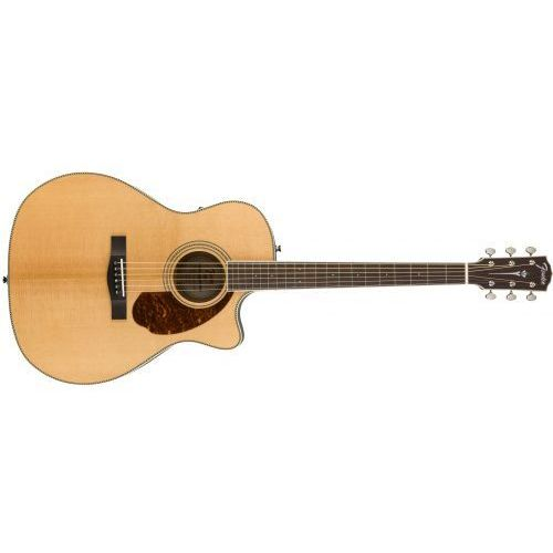 pm-4ce auditorium limited, ovangkol fingerboard, natural w/case gitara elektroakustyczna marki Fender