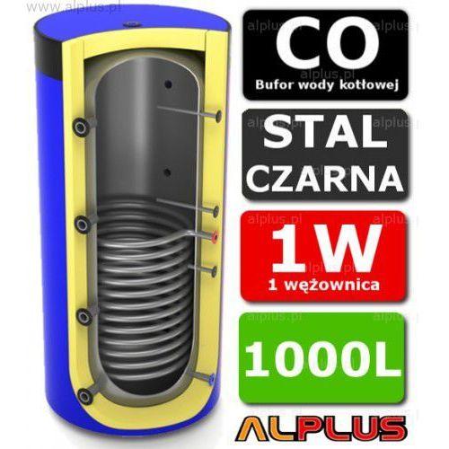 Bufor LEMET 1000L z 1 Wężownicą do CO - Zbiornik Buforowy Zasobnik Akumulacyjny 1000 litrów - Wysyłka Gratis