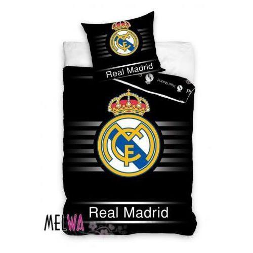 Komplet pościel licencyjna kluby sportowe Real Madrid 160x200cm, Dystrybutor Carbotex