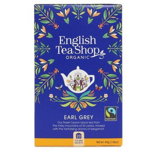 English tea sho Herbata earl grey 20x2,25g bio 45 g p