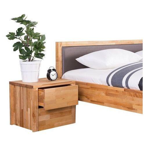 Drewniana szafka nocna z 2 szufladami CARRIS ARRAS (4260580931187)