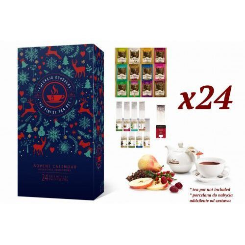 Kalendarz Adwentowy z herbatą Sir William's Tea oraz Royal Taste 2019 (5907813306006)