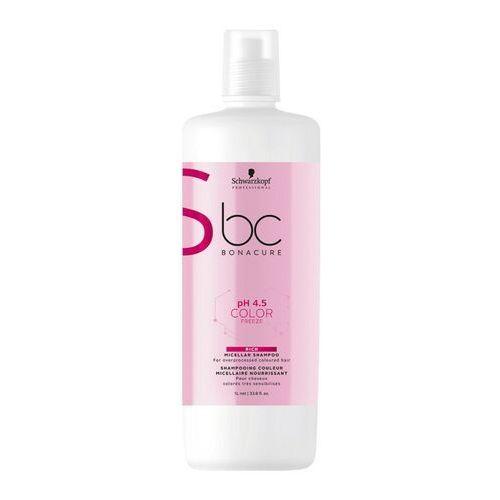 Schwarzkopf bc color freeze szampon nabłyszczający do włosów farbowanych 1000 ml