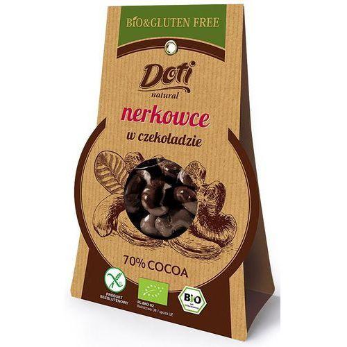 Doti Orzechy nerkowca w czekoladzie deserowej bio 60g. -