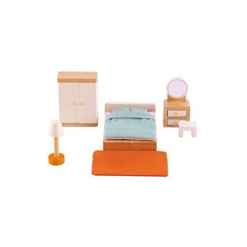 Wyposażenie domku dla lalek - sypialnia, Hape z Mall.pl