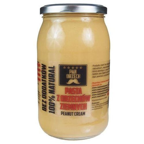Pan Zdrówko Pasta z orzechów ziemnych Smooth - 900g
