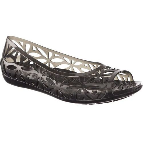 Sandały Crocs Isabella Jelly II Flat Black/Black BLACK/BLACK