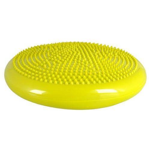 Poduszka sensomotoryczna do masażu inSPORTline Bumy BC100, Ciemno żółto-zielony
