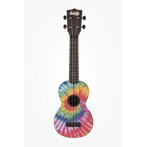 Kala ukadelic soprano tiedye, ukulele sopranowe z pokrowcem