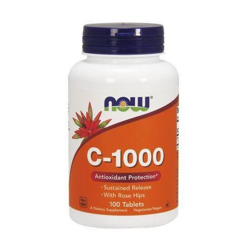Tabletki Now Foods Witamina C-1000 z dziką różą o przedłużonym uwalnianiu 100 tabl.