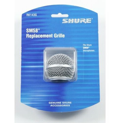 Shure rk 143 g grill (siatka) do shure sm 58