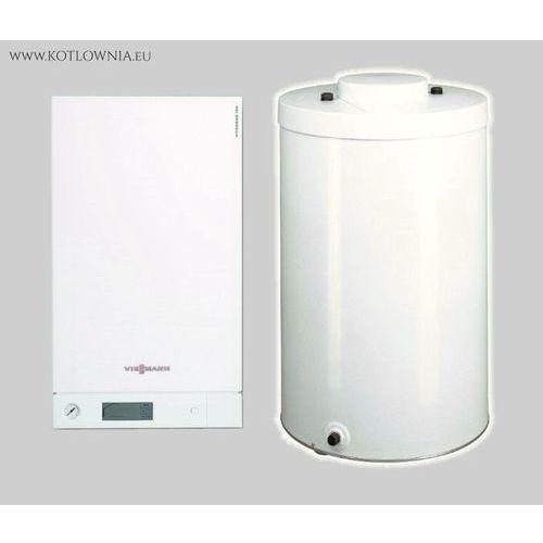 Vitodens 100-W 6,5 - 19,0kW + podgrzewacz 100l Vitocell 100-W. GZ-50