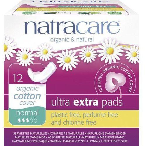 Podpaski ze skrzydełkami ultra extra normal 12 sztuk marki Natracare
