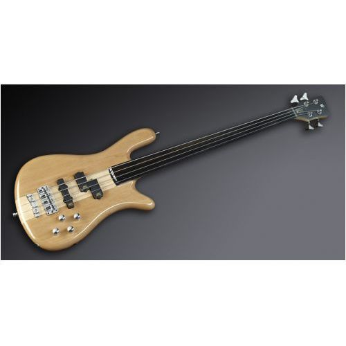 streamer nt i 4-string, natural transparent high polish, fretless gitara basowa marki Rockbass