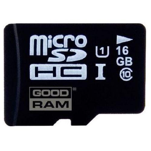 Goodram Karta pamięci microsd 16gb klasa 10 + zamów z dostawą jutro! (5908267930007)