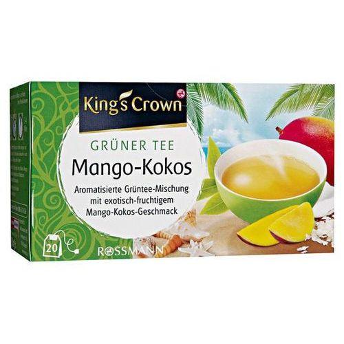 King's Crown Zielona Herbata Mango Kokos - Zielona Mango Kokos