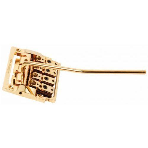 Kahler 2410R-W-4 - 4-String Bass Tremolo, rearward Saddles - złoty mostek do gitary