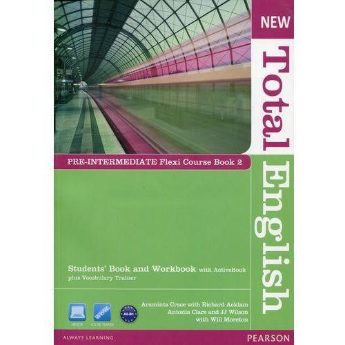New Total English Pre-Intermediate Flexi Course Book 2 (90 str.)