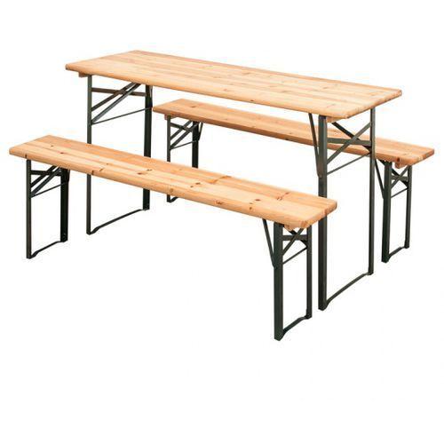 Ogrodowy zestaw piwny, 2x ławka, 1x stół marki B2b partner