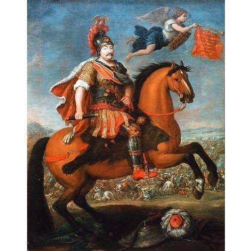 obraz Apoteoza króla Jana III Sobieskiego - Georg Philipp Rugendas (obraz)