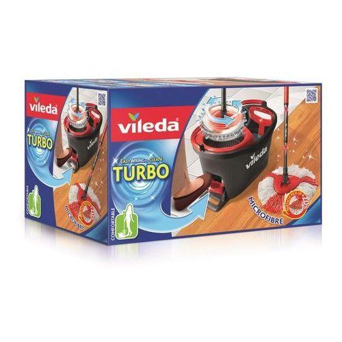 Mop obrotowy VILEDA Easy Wring and Clean Turbo + DARMOWY TRANSPORT! + Zamów z DOSTAWĄ JUTRO! - produkt dostępny w ELECTRO.pl