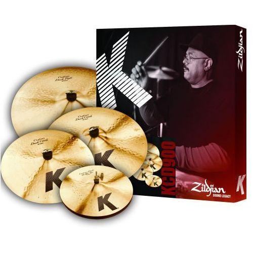 kcd900 k custom dark box set zestaw talerzy perkusyjnych marki Zildjian