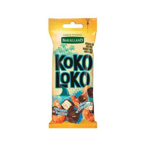 BAKALLAND 50g Koko Loko Mieszanka kostki kokosowej w czekoladzie i prażonego kokosowego nerkowca