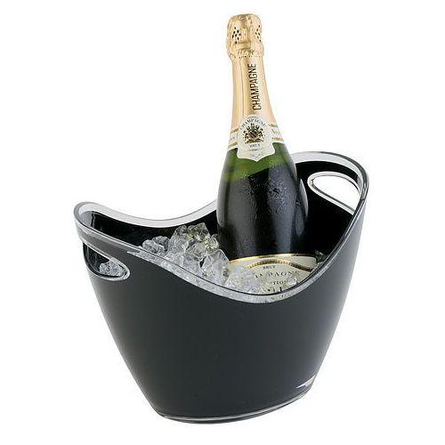 Pojemnik na wino lub szampana z tworzywa 270x200x210 mm, czarny | , 36053 marki Aps