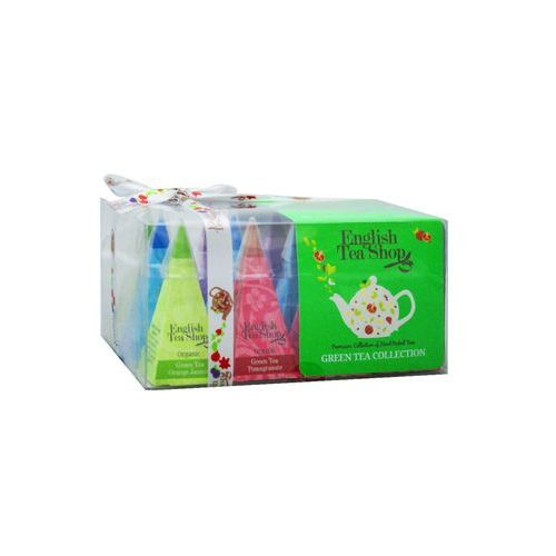 English tea shop Ets bio green tea collection 12 piramidek