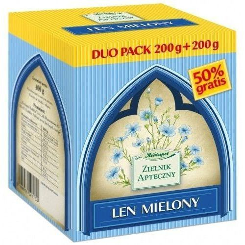 Herbapol lublin Len mielony duo pack 200g +200g