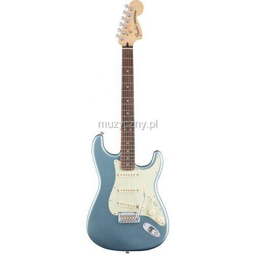 deluxe roadhouse stratocaster rw mib mistic ice blue gitara elektryczna, podstrunnica palisandrowa marki Fender