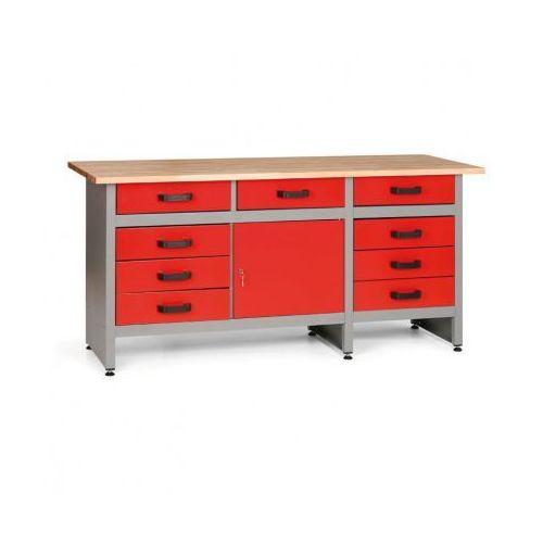 Mars Stół roboczy z szufladami i szafką (8595004158052)